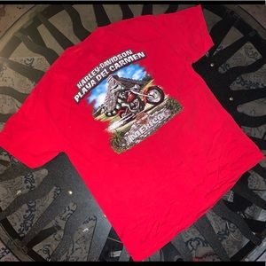 Harley Davidson Short sleeve t shirt red size XL
